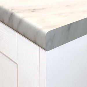 MISTY PEAK MARBLE WORKTOP 38mm 3m x 600mm